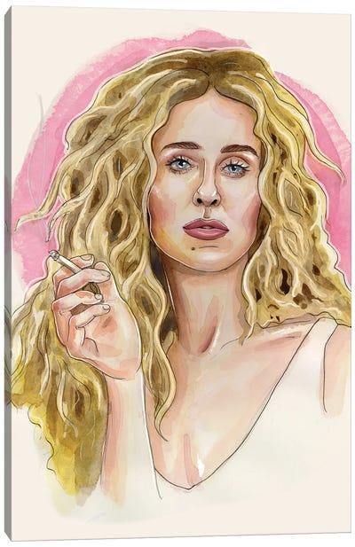 Carrie Bradshaw Canvas Art Print