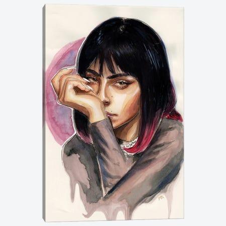 Charli XCX I Canvas Print #LLM13} by Sean Ellmore Canvas Art