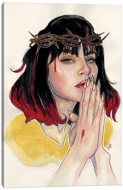 Charli XCX II Canvas Art Print