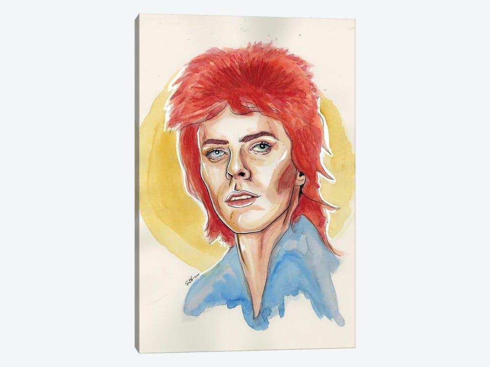 David Bowie by Sean Ellmore 1-piece Canvas Wall Art