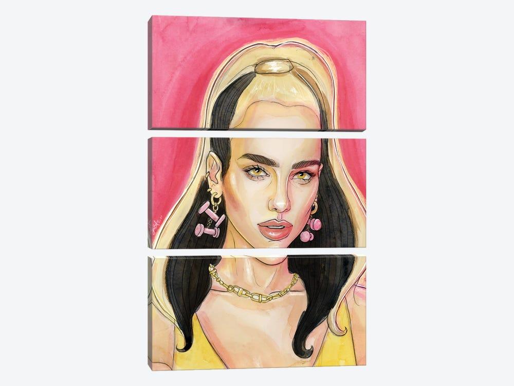 Dua Lipa - Physical by Sean Ellmore 3-piece Canvas Art Print