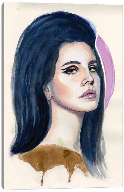 Lana Del Rey I Canvas Art Print