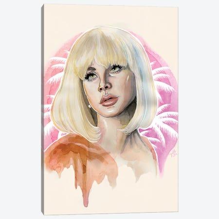 Lana Del Rey II Canvas Print #LLM24} by Sean Ellmore Canvas Artwork
