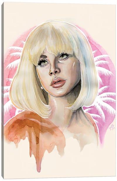 Lana Del Rey II Canvas Art Print