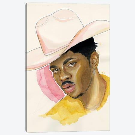 Lil Nas X Canvas Print #LLM25} by Sean Ellmore Canvas Wall Art