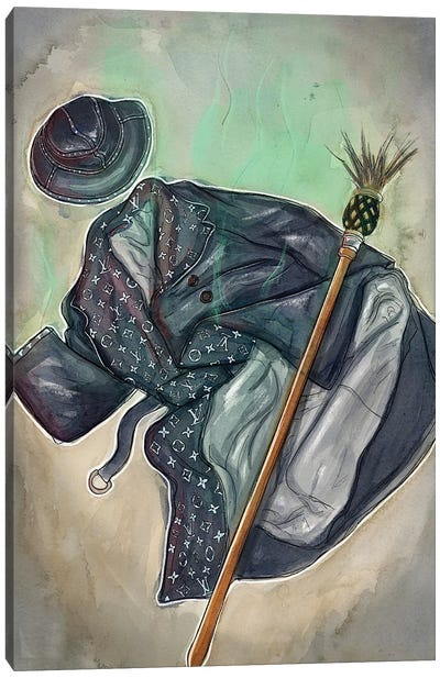 Wicked Witch Of Louis Vuitton Canvas Art Print