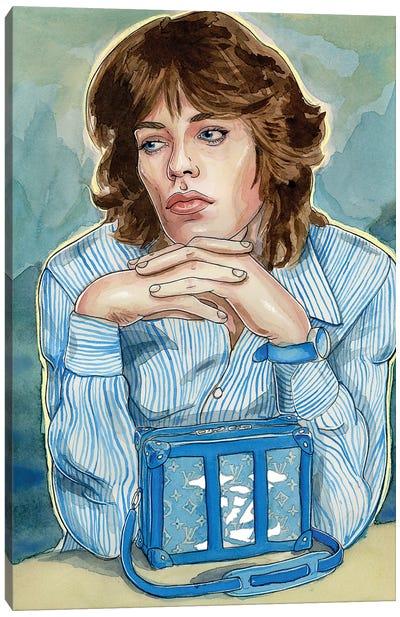 Mick Jagger Louis Vuitton Canvas Art Print