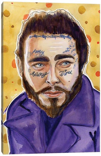 Post Malone Canvas Art Print