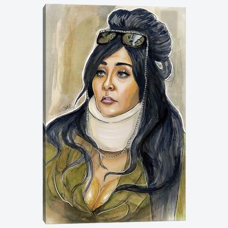 Snooki Canvas Print #LLM30} by Sean Ellmore Canvas Art