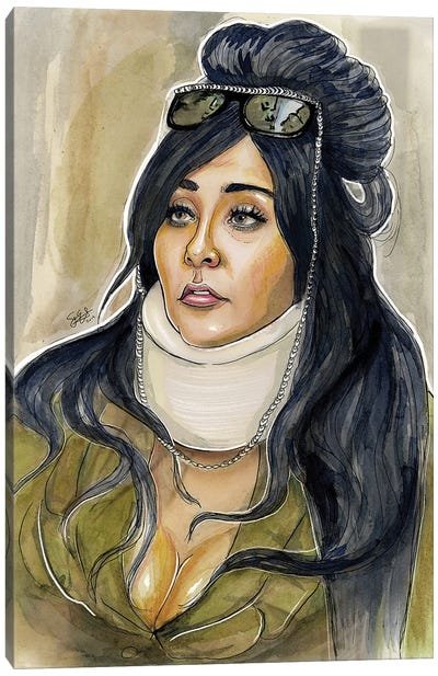 Snooki Canvas Art Print