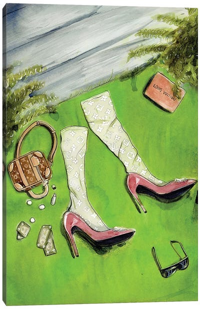 Wizard of Oz - Louis Vuitton Canvas Art Print