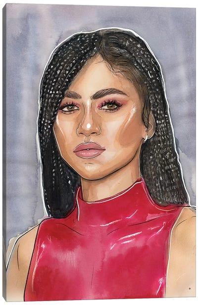 Zendaya Canvas Art Print