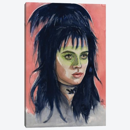 Lydia Deetz Canvas Print #LLM3} by Sean Ellmore Canvas Wall Art