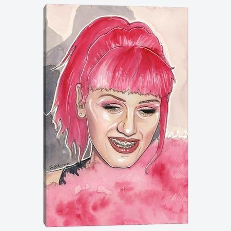 1999 Gwen Stefani Canvas Print #LLM40} by Sean Ellmore Art Print