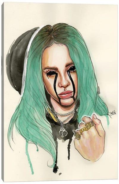 Billie Eilish I Canvas Art Print