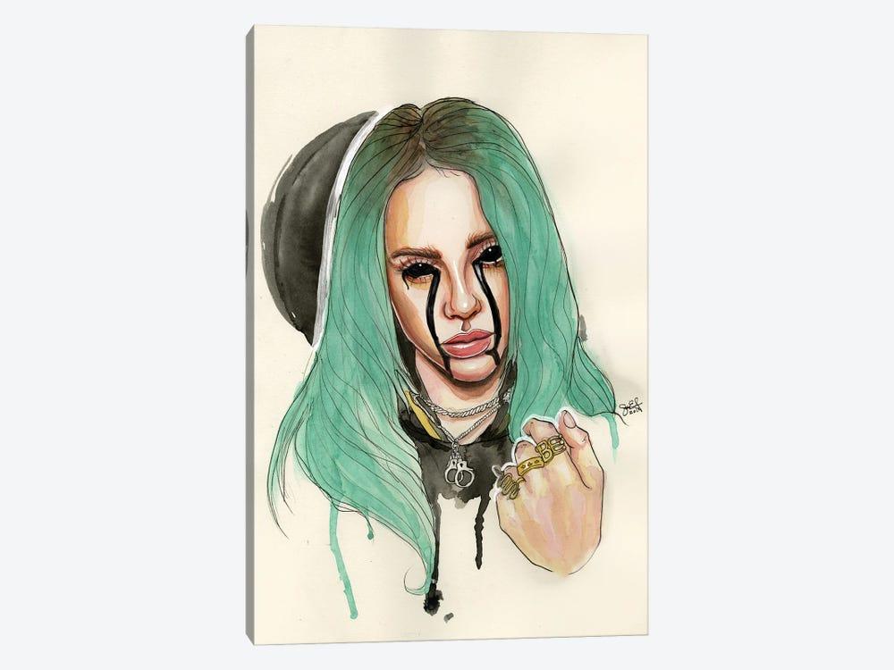 Billie Eilish I by Sean Ellmore 1-piece Canvas Art Print