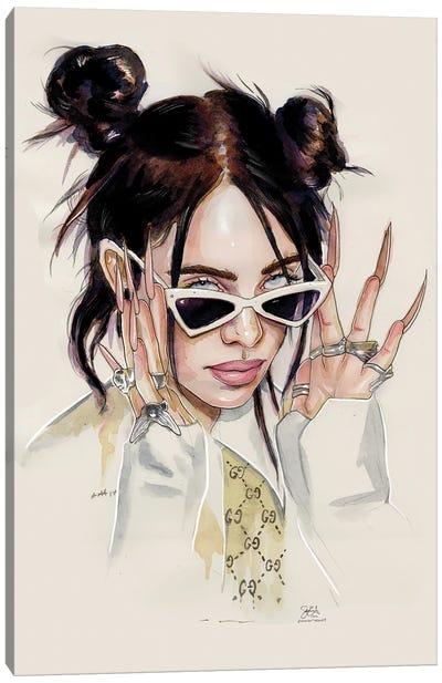 Billie Eilish II Canvas Art Print