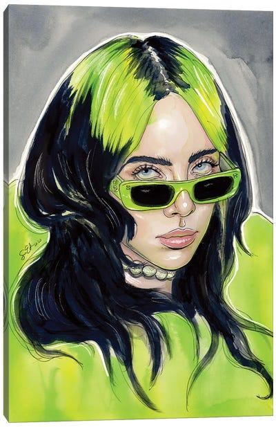 Billie Eilish III Canvas Art Print