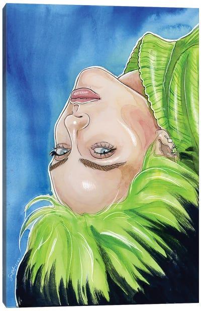 Billie Eilish V Canvas Art Print