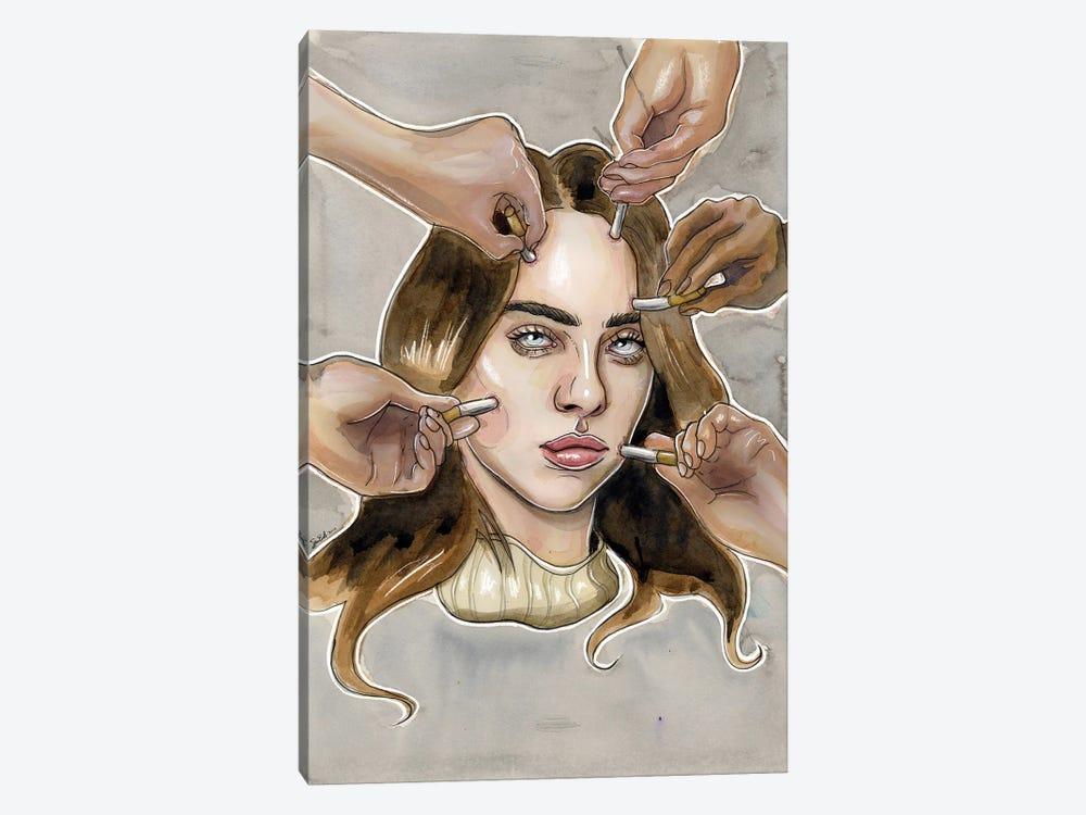 Billie Eilish VI by Sean Ellmore 1-piece Canvas Artwork