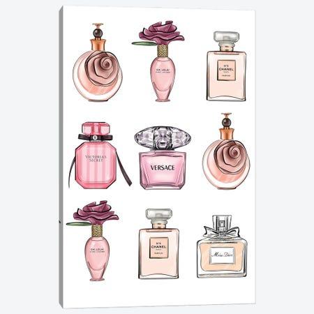 Perfumes Canvas Print #LLN71} by LaLana Arts Canvas Art Print