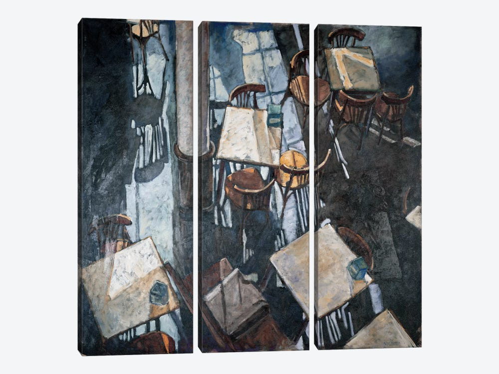Shadows At The Zurich Café 3-piece Art Print