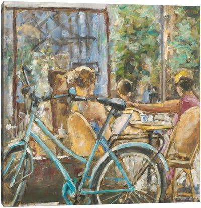 Cafe Paris V Canvas Art Print