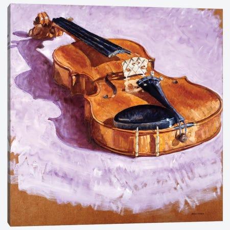 Violin Canvas Print #LLO5} by Adolf Llovera Canvas Art Print