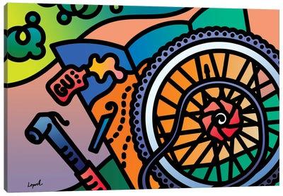 Fat Tire Canvas Art Print