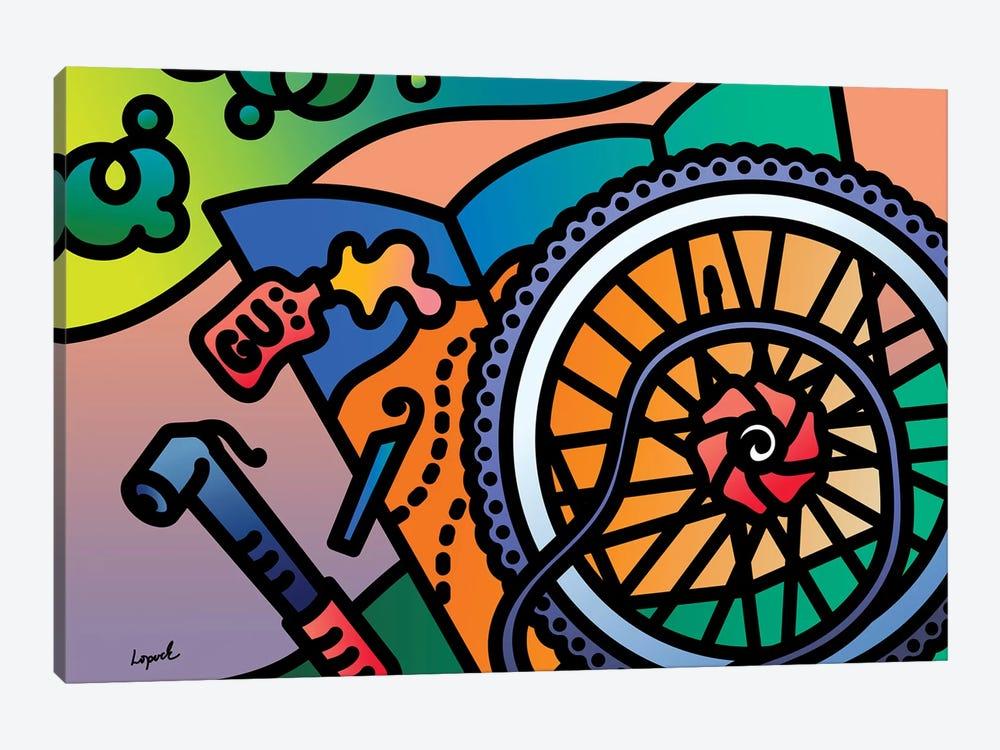 Fat Tire by Lisa Lopuck 1-piece Canvas Art Print