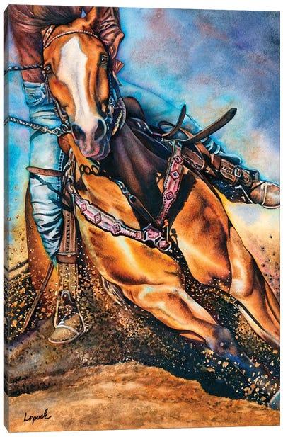 Get Dun Canvas Art Print