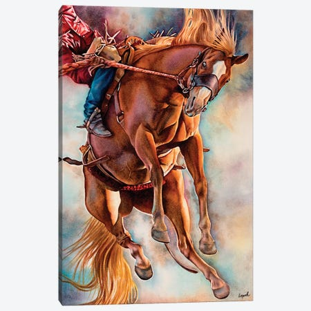 Hang Ten Canvas Print #LLP17} by Lisa Lopuck Canvas Art