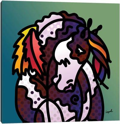 Indian Pony Canvas Art Print