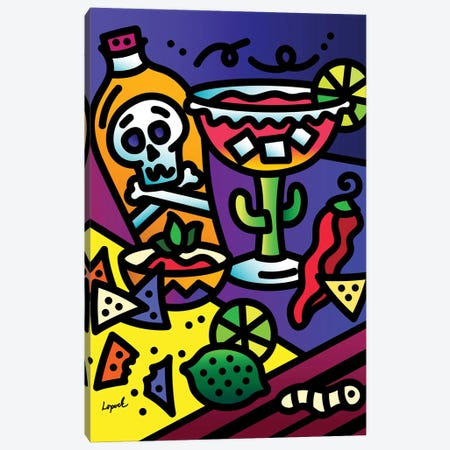 Margarita Night Canvas Print #LLP26} by Lisa Lopuck Canvas Print