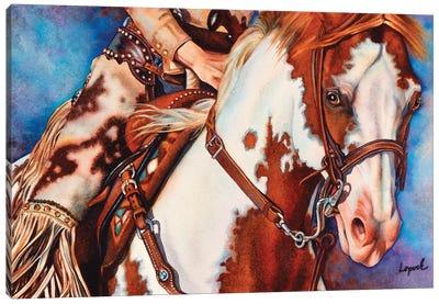 Packin Heat Canvas Art Print