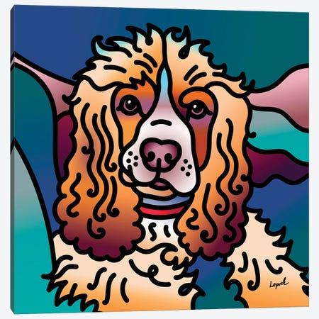 Paisley Canvas Print #LLP33} by Lisa Lopuck Canvas Art Print