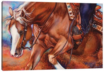 Pay Dirt Canvas Art Print