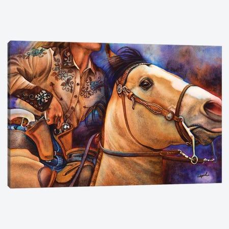 Piece Action Canvas Print #LLP39} by Lisa Lopuck Art Print