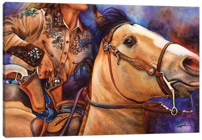 Piece Action Canvas Art Print