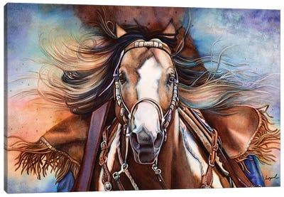 Point Blank Canvas Art Print
