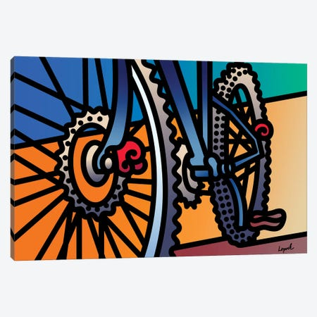 Rollin Out Canvas Print #LLP41} by Lisa Lopuck Canvas Art