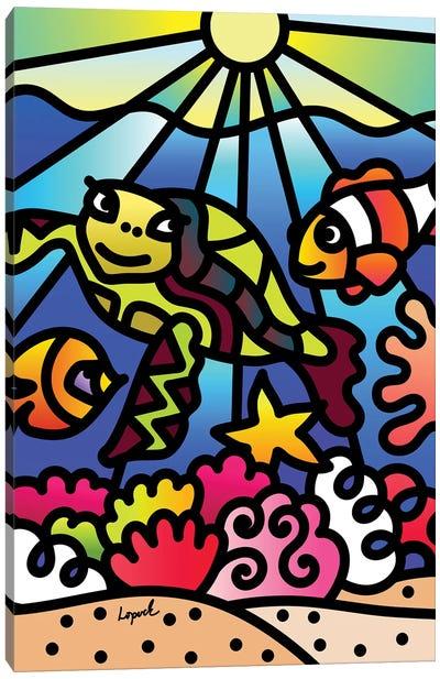Sea I Canvas Art Print