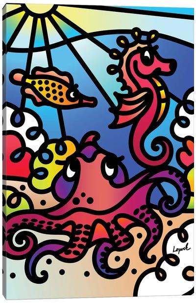 Sea II Canvas Art Print