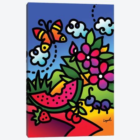 Summer I Canvas Print #LLP46} by Lisa Lopuck Art Print