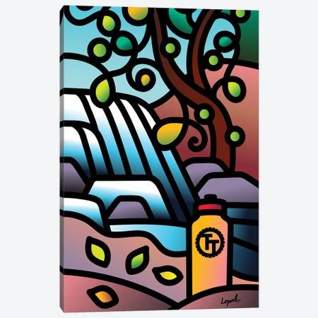 WaterBreak II Canvas Print #LLP55} by Lisa Lopuck Canvas Artwork