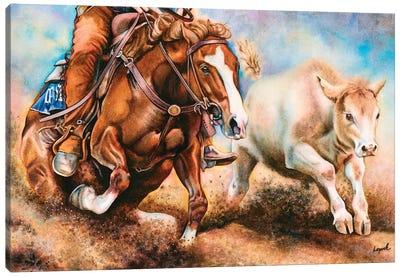 Down Dirty Canvas Art Print