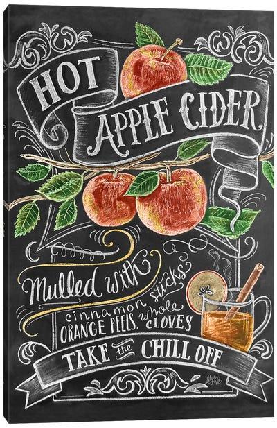 Hot Apple Cider Recipe Canvas Art Print