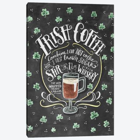 Irish Coffee Recipe Canvas Print #LLV120} by Lily & Val Canvas Art Print