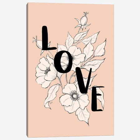 Love Roses Canvas Print #LLV143} by Lily & Val Canvas Art Print