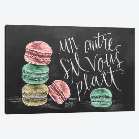 Macarons 3-Piece Canvas #LLV148} by Lily & Val Canvas Art Print